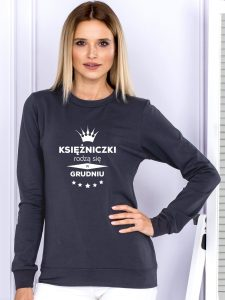 bluza z napisami