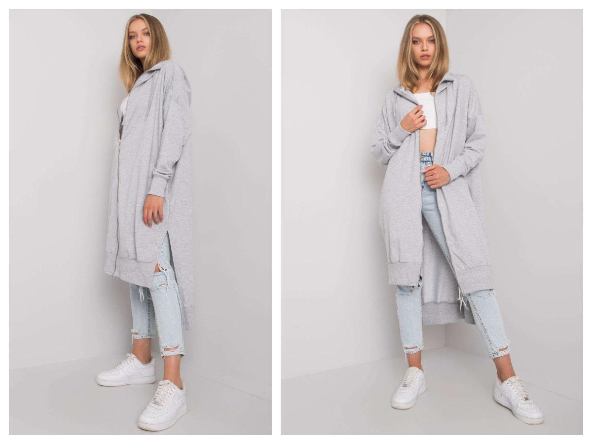 Długie rozpinane bluzy - modny wybór każdej kobiety